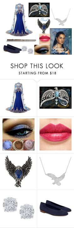 Book Inspired Set #4 by sandstormthenerd on Polyvore featuring Effy Jewelry, Gemco and Rowena_ravenclaw