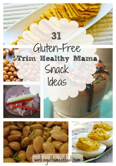 variety of all THM meals that are gluten free S, E, FP