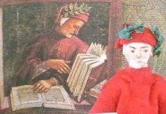 Dante the Poet Art Collectible Doll Miniature Classic Literature