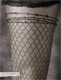 Design: An ad against illegal sex trafficking of women. Stocking resembles a fence and the top, barbed wire. Street Marketing, Business Marketing, Creative Inspiration, Design Inspiration, Letras Tattoo, Stop Human Trafficking, Political Posters, Social Awareness, Best Ads
