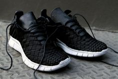 My BF got these for me.. except mine re blue and grey.. I love them!! NIKE Free Inneva Woven - Black | Sneaker | Kith NYC ($100-200) - Svpply