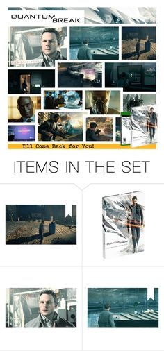 """Quantum Break: the Secret History of Time Travel : Prima Collector's Edition Guide"" by hangar-knjiga ❤ liked on Polyvore featuring art, books, gaming, games, xbox and QuantumBreak"