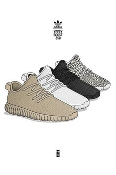 "AirVille - ""Pick Your Poison"" Illustration By Ahmedthakid #yeezy #boost #350"