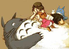 Everybody loves Totoro!  lol humor funny #lol #humor #funny