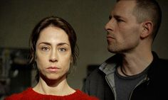 Sarah Lund and Ulrik Strange in series two of The Killing. Photograph: Tine Harden/BBC/Danmarks Radio