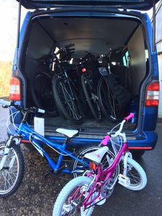 CFC bikes loaded on Tuesday this week for delivery to kids living with and beyond cancer across the West Midlands area. #RideForUs #bike #cycle #cycling #cyclists #fighting #cancer