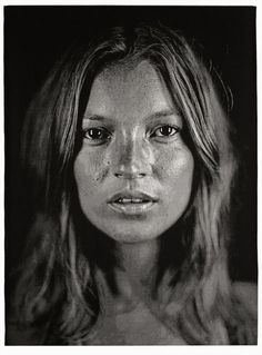 Kate Moss, Chuck Close (2005) Portait