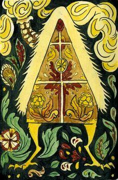 the walking house Baba Yaga Baba Yaga House, Cryptozoology, Portraits, Conte, Faeries, Pagan, Illustrators, Folk Art, Fairy Tales