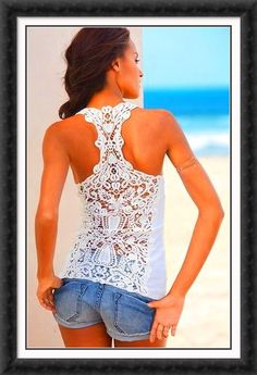 Great lace tank