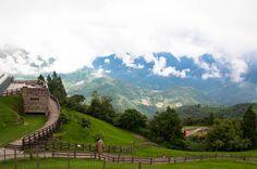 cing jing landscape, Taiwan