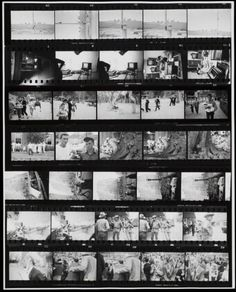 Robert Frank 'Contact Sheet from The Americans', 1955–6; printed 1970s © Robert Frank, courtesy Pace/Macgill Gallery, New York