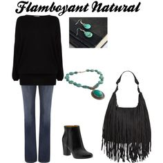 """Flamboyant Natural"" by dwfn54 on Polyvore"