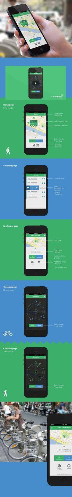 Inspiration mobile : 20 applications utilisant des fonctionnalités avec des maps…