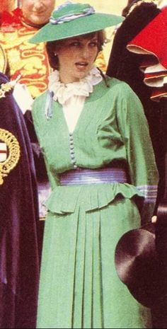 Lady Diana Spencer at The Order of the Garter, June 1981