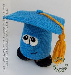 Ravelry: Greg the Graduation Cap pattern by K4TT