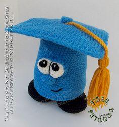 Ravelry: Greg the Graduation Cap pattern by K4TT