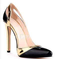 Topuklular - Parti ve Gece - Topuklu / Temel Topuklu - Sentetik - Stiletto Topuk - Siyah - Kadın ayakkabı 2017 - $44.99