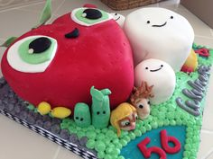 Cloudy with a Chance of Meatballs 2 cake!!