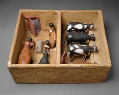 Model Cattle stable from the tomb of Meketre    Period:      Middle Kingdom  Dynasty:      Dynasty 12  Reign:      reign of Amenemhat I, early  Date:      ca. 1981–1975 B.C.