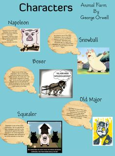 the complete changes of the character of napoleon in animal farm a novel by george orwell How napoleon maintains control in france 1799  all these changes gave napoleon perfect  control of animal farm in george orwell's novel george.