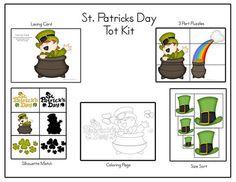St. Patrick's Day Toddler Printables