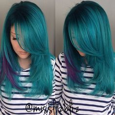 9: This teal/purple design by @misslizbliz, posted Feb 4, 2015, was an immediate hit earning 6869 likes and 427 comments.