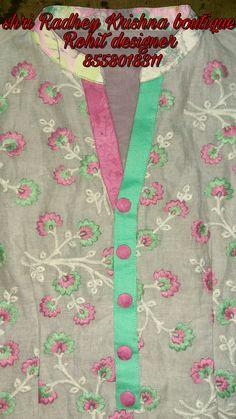 Dress Neck Designs, Kurti Neck Designs, Sleeve Designs, Blouse Designs, Salwar Pattern, Kurti Patterns, Kurti Sleeves Design, Designer Party Wear Dresses, Indian Fashion