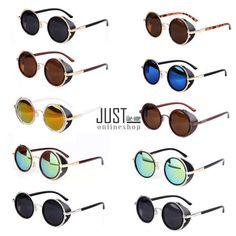 3bbfbbabdb Damen Rund Sonnenbrille Sonnenbrillen Brille Herren Fliegerbrille Sunglasses
