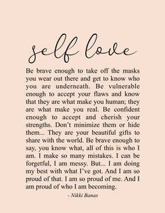 self love quote + self care quotes Positive Quotes For Life Encouragement, Positive Quotes For Life Happiness, Wisdom Quotes, Words Quotes, True Quotes, Motivational Quotes, Inspirational Quotes, Sayings, Flaws Quotes