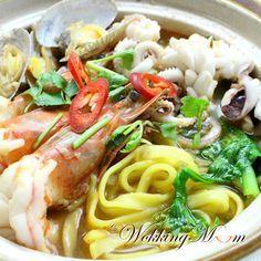 seafood noodle soup...