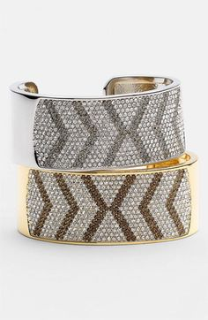 Vince Camuto Pavé Chevron Cuff available at #Nordstrom