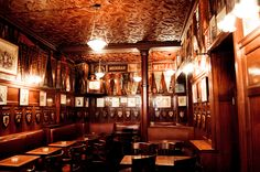 Interior of Harry's New York Bar in Paris