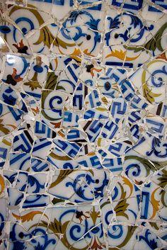 Gaudi mosaic