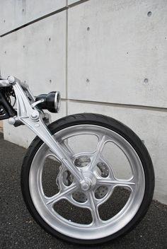 """3D Billet Girder Fork & 23""""Wheel"""