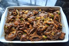 Greedy girl: Oxtail stew - Food & Drink that I love - Oxtail Recipes, Beef Recipes, Beef Meals, Jamaican Dishes, Jamaican Recipes, Souper Bowl, Oxtail Stew, How To Cook Beef, Kitchens