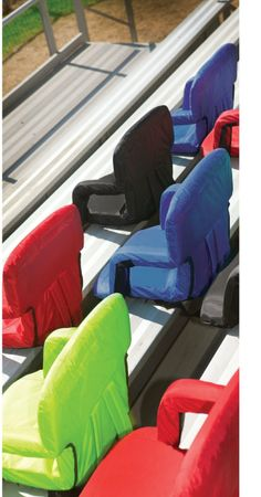 Amazon.com : Picnic Time Portable Ventura Reclining Seat (Black) : Sports Stadium Seats And Cushions : Sports & Outdoors