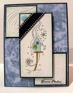 Great Impressions   Donna Phelan   F416 Winter Birdhouse