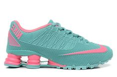 cheap for discount a1da9 cd599 Womens Nike Shox Turbo 21 Mint Green Pink 36-40 On Sale