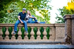 Malcolm X Park Meridian Hill Park Engagement Photography <---I like the contrast in this shot.