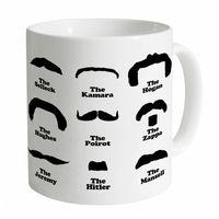 Moustache Hall of Fame Mug