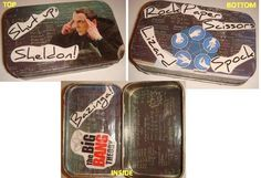 Big Bang Theory altered Altoid tin... second one I've made