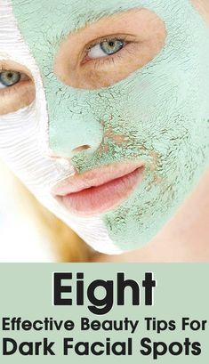 8 Effective Beauty Tips For Dark Facial Spots