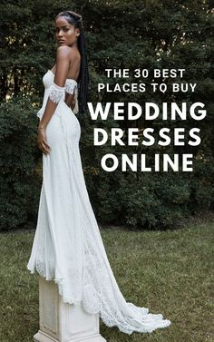 You don't need to visit salons to find your perfect dress! Here are the 30 best online shops for wedding dresses in any budget & style including Grace Loves Lace's online bridal boutique.