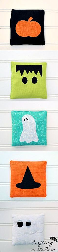 Halloween Bean Bags | Crafting in the Rain