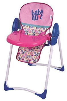 Shop a great selection of Baby Alive Doll Deluxe High Chair Toy. Find new offer and Similar products for Baby Alive Doll Deluxe High Chair Toy. Baby Dolls For Kids, Little Girl Toys, Baby Girl Toys, Toys For Girls, Baby Alive Doll Clothes, Baby Alive Dolls, Baby Doll Strollers, Pram Stroller, Muñeca Baby Alive