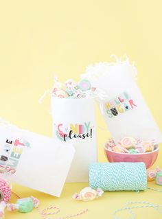 Treat bags for any occasion. Follow this simple video tutorial and learn how!