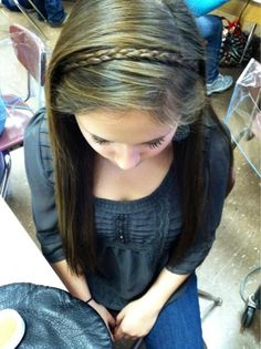 Braided Headband. Cute easy. Perfect for fall time.