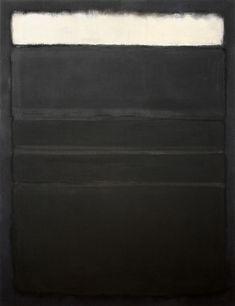 Mark Rothko, 'Untitled (White, Blacks, Grays on Maroon),' 1963