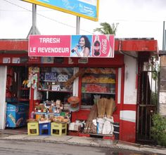 Mauritius Mahebourg Area, although there are so many of these little shops around the Island, friendly little  places