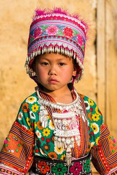 Southwest China - Lovely child of the RED HEAD MIAO tribe | Flickr - Photo Sharing!